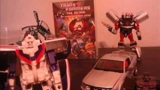 Transformers Vintage Stock Pickups in Stop Motion