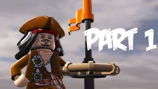 ������ Lego Pirates of the Caribbean: Walkthrough Part 1 - Let's Play (Gameplay & Commentary)