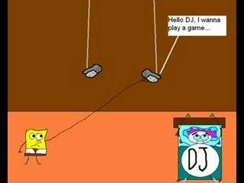 Spongebob Playing Saw 4 прохождение игры Spongebob Saw Game