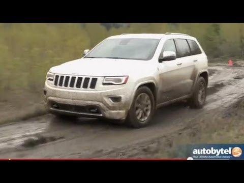Смотреть онлайн 2014 Jeep Grand Cherokee Overland Off-Road Test Drive & SUV Video Review