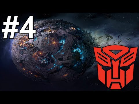 Transformers - Fall of Cybertron Walkthrough / Gameplay Part 4 - One Big Bot ( ( url:www.youtube.com/watch?v=WQrcIyc6gpg | url:www.youtube.com/watch?v=AhQEQOzEzps | url:www.youtube.com/watch?v=kNqcVCu