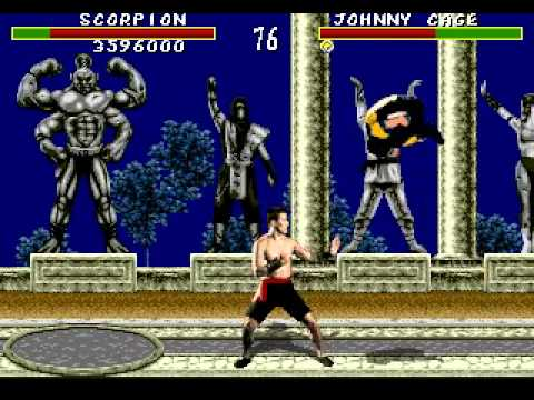 Mortal Kombat SEGA Genesis/Mega Drive (Very Hard difficulty ...