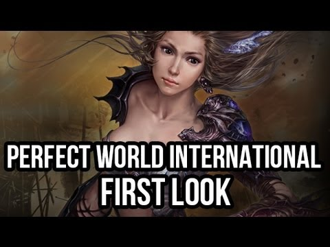Смотреть онлайн Perfect World International (Free MMORPG): Watcha Playin'? Gameplay First Look