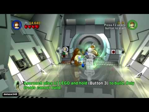 �������� ������ ��������� Lego Star Wars: The Complete Saga Gameplay (PC HD) lego war 2 online smotret star wars saga lego online smotret online 6 lego star wars online smotret