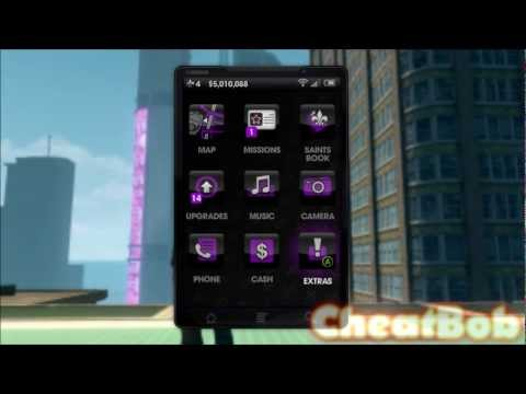Смотреть онлайн Saints Row the Third : TONS OF CHEATS !