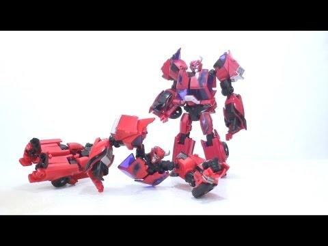 Смотреть онлайн Video Review of the Transformer: Prime; First Edition Terrorcon Cliffjumper