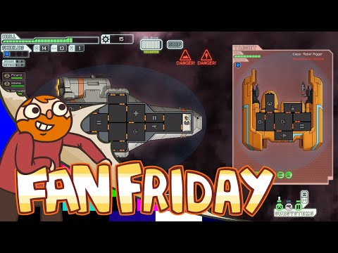 Смотреть онлайн бесплатно Fan Friday! - FTL - Space Ship of the Daaaaaaaaaaaaaamned!